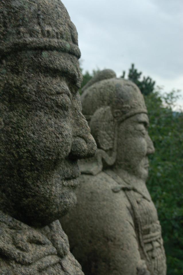 Tomb guards