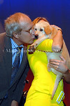 Chevy Chase gives Auction Puppy a smooch. 10th Annual Collaborating for a Cure Gala to Benefit the Samuel Waxman Cancer Research Foundation