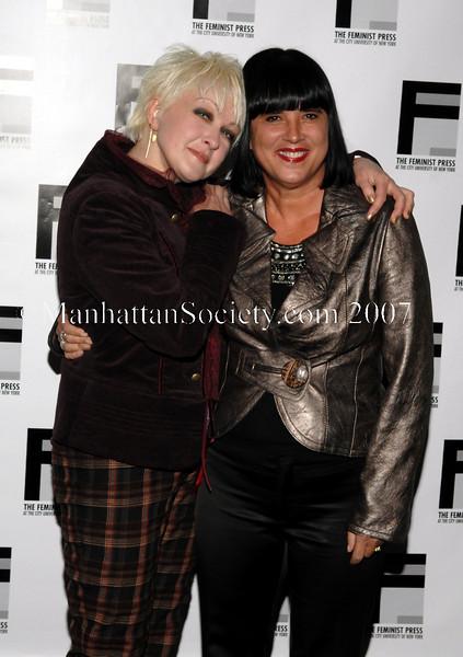 Cyndi Lauper & Eve Ensler