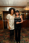 Tony Award Winner Sarah Jones with Eve Ensler