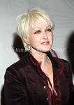 Cyndi Lauper at Tavern on the Green for the 37th Anniversary Gala of The Feminist Press at City University of New York (C.U.N.Y.) where she was honored along with  Feminist Eve Ensler