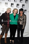Cyndi Lauper, Gloria Jacobs, Executive Director of Feminist Press & Eve Ensler