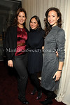 Melissa Skoog, Sabine Heller & Olivia Chantecaille at Le Cirque for an exclusive dinner and Louis XIII Cognac tasting hosted by  aSMALL WORLD and Remy Martin for the The Young Patrons Circle of the American Friends of the Louvre