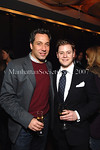 Thom Filicia & Kipton Cronkite at Le Cirque for an exclusive dinner and Louis XIII Cognac tasting hosted by  aSMALL WORLD and Remy Martin for the The Young Patrons Circle of the American Friends of the Louvre