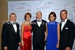 Hon. John Lehman, Vicki LeVine, HSH Prince Albert II of Monaco, TRH The Princess of Hanover & Christopher Le Vine