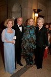Roberta D. Steward-Sandeman, Konrad Keesee, Barbara Cates, Irene Roosevelt Aitken at <br /> The Frick Collection Autumn Dinner, 2007 - Honoring Anne and John Marion