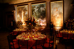 The East Gallery of The Frick Collection with a very special temporary installation of the Fragonard paintings, The Progress of Love, considered the artist's masterpiece