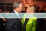 Mayor Michael Bloomberg & Liz Smith