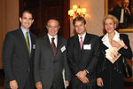 Mason C. Salit (HSBC Private Bank, Head of International Private Bank NY), Dr. Guillermo Ortiz (Governor of Banco De Mexico),   Miguel Monnichmeyer (HSBC Private Bank, Relationship Manager)  & ?