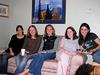 Vanessa, Jill, Lindsay, Amber & Mariana at Kristen's shower