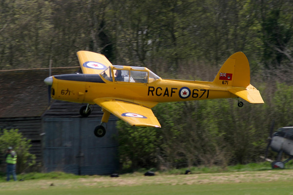 Old Warden : 18th April