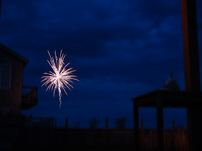 Neighbor's Fireworks