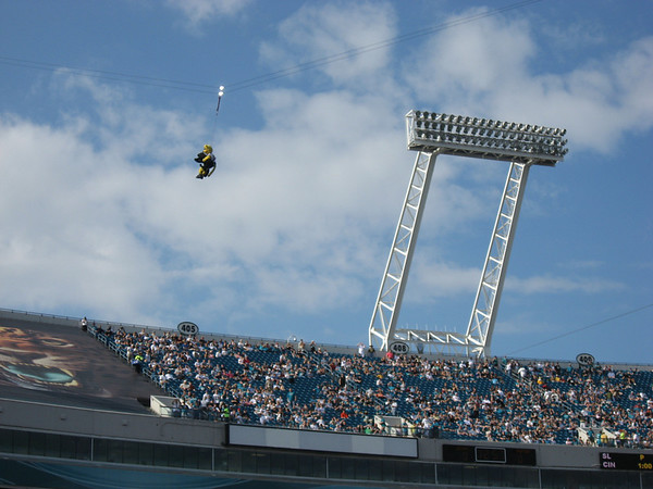 Panthers @ Jaguars December 9th 2007