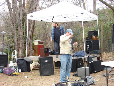 Flashback Mary begins setup