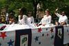City of Newburgh Youth Bureau Junior Debs and Gents march in the City of Newburgh Youth Pride Parade.