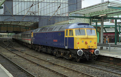 The pair were split at Carlisle, leaving 47848 'Titan Star' on the rear (16/06/2007)