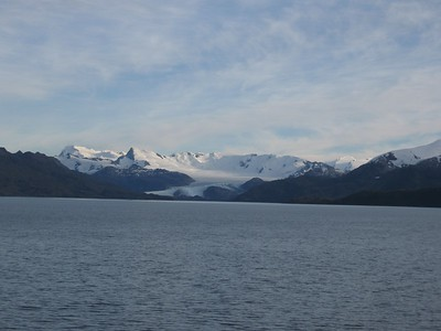 Distant glacier - Andrew Gossen