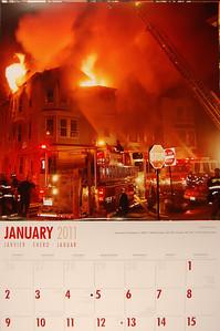 Firefighters Calendar - 2011