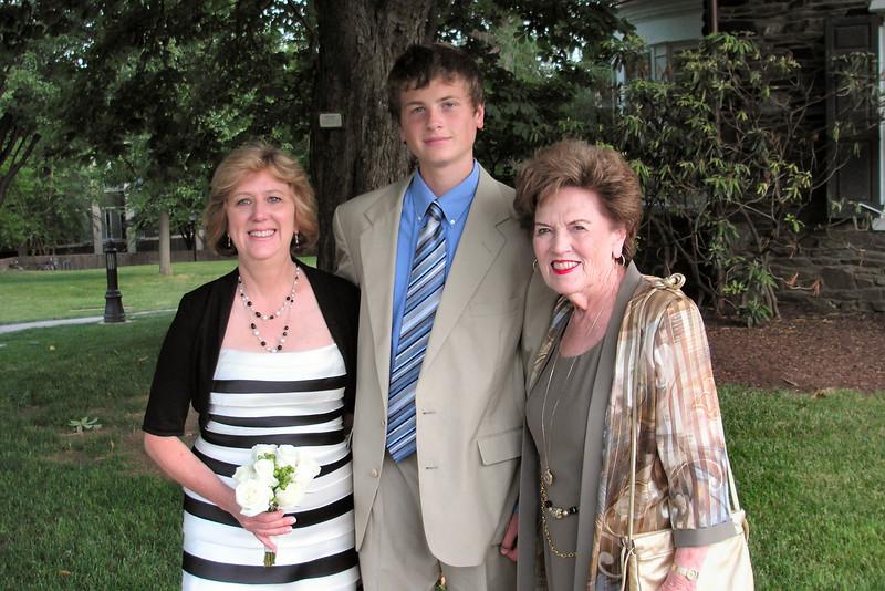 Judy, Bradley and Aunt Margie