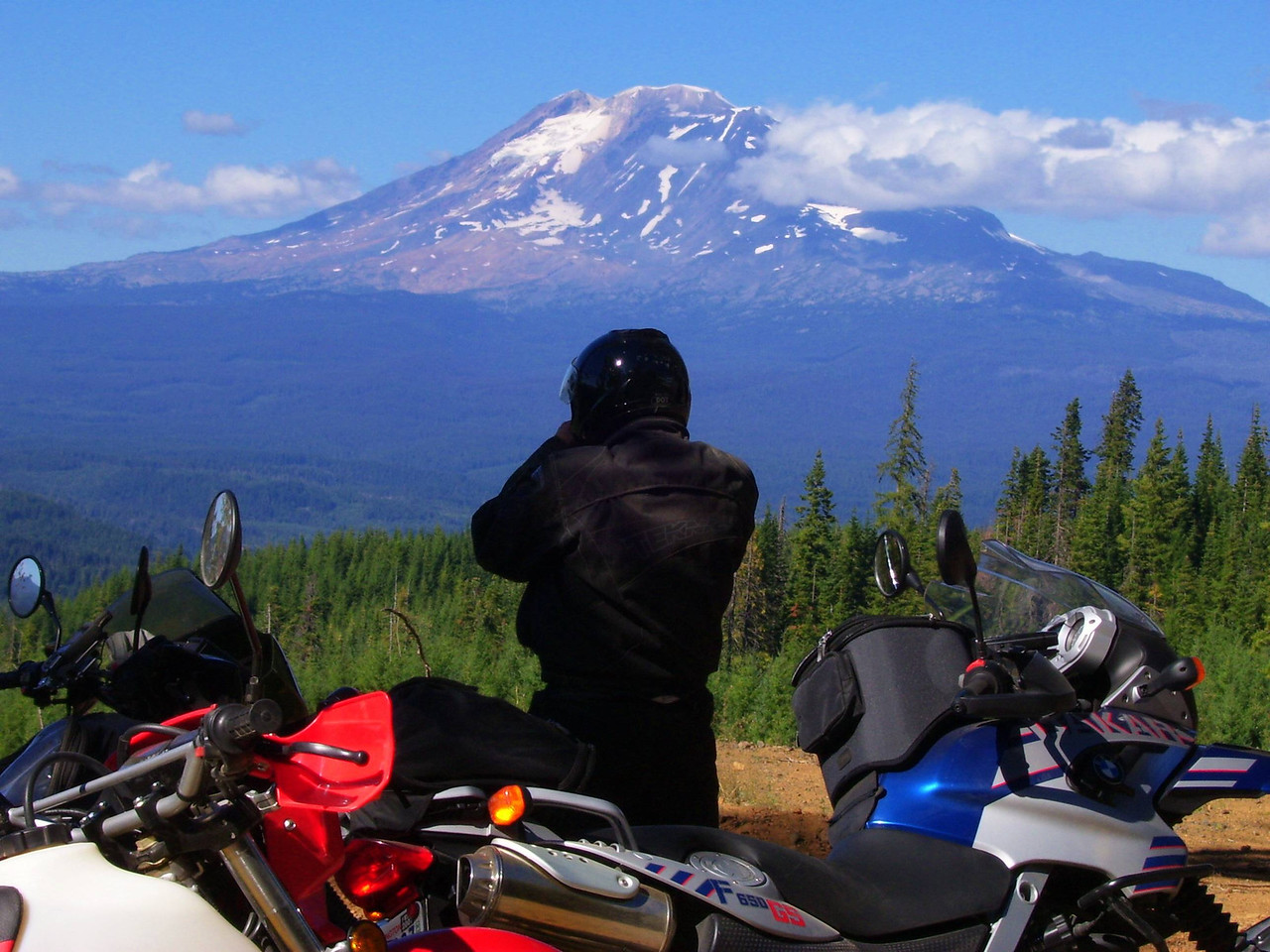 Mt. Adams from the 1840 road.