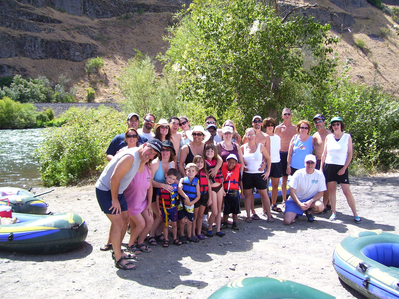 Doug and Nancy's family invited us on a float trip down the Yakima River. We had a great time and Nancy cooked a fabulous dinner and breakfast afterwards.