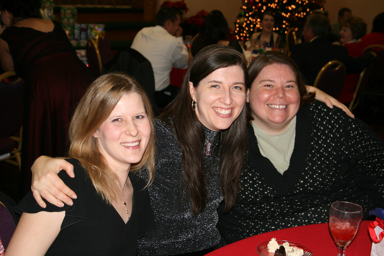 Work Christmas Party - Sarah, Heather, Tanya
