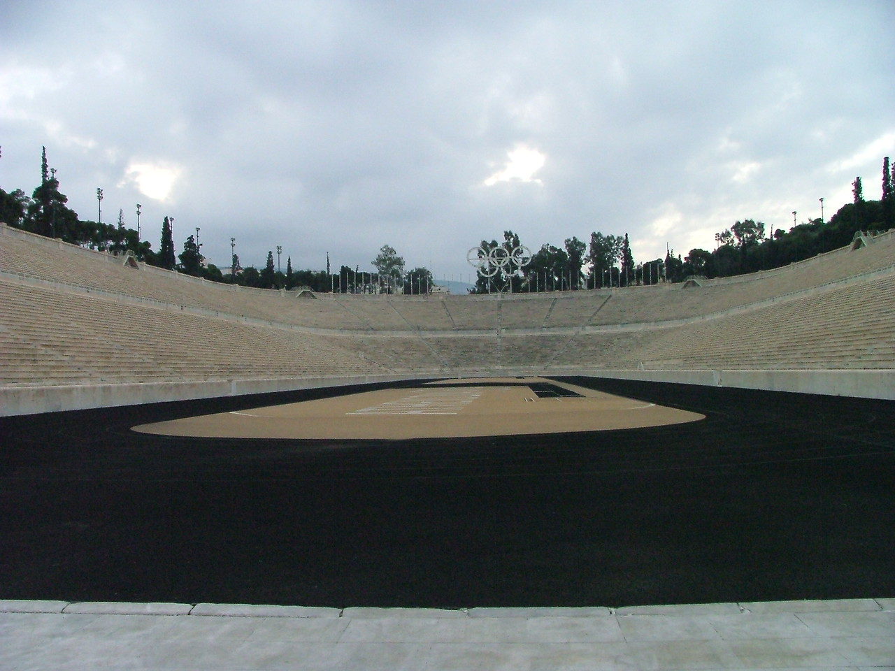 Stadium from the first modern-day Olympics (1896)