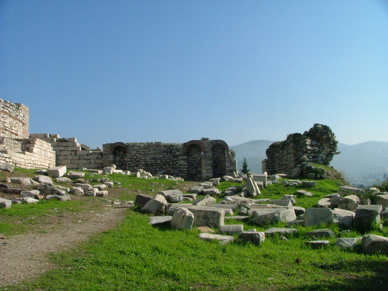 Basilica of St. John - Built by the Emperor Justinian over the tomb of St. John the Apostle