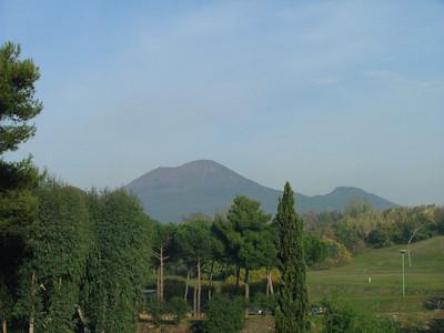 Mt. Vesuvius from Pompeii