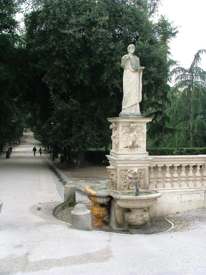 Outside Galleria Borghese