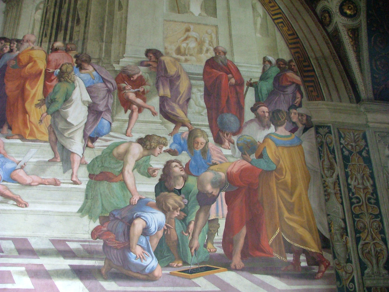 Vatican - School of Athens, my favorite painting since high school