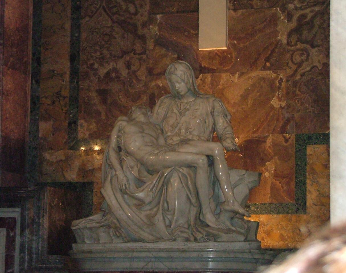 Vatican - St. Peter's Basilica - The Pieta
