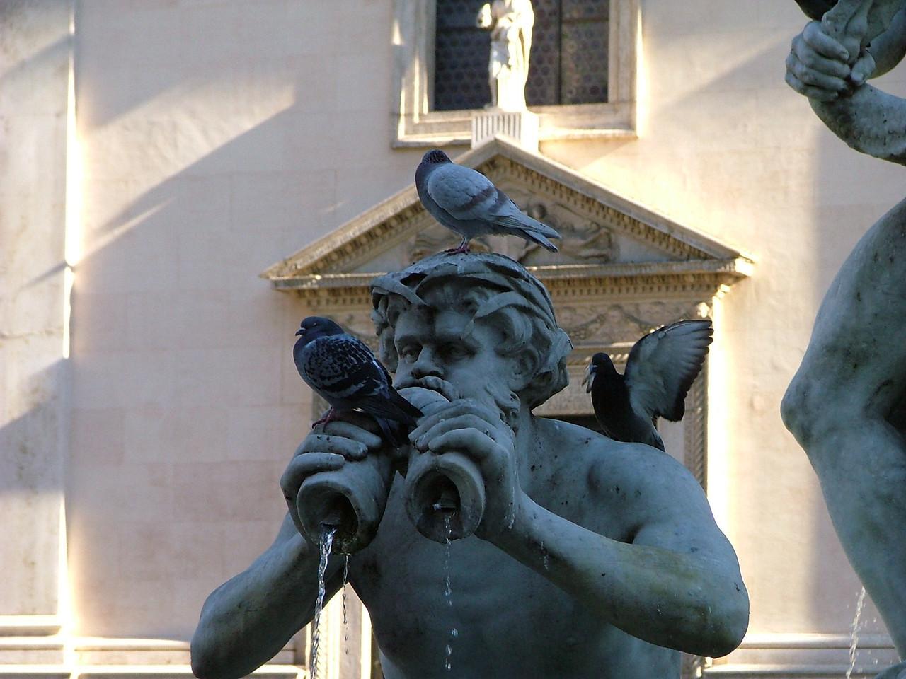 At Piazza Navona.