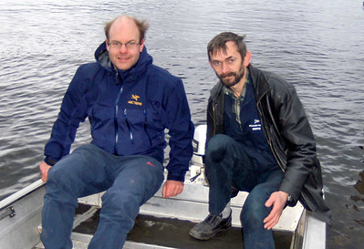 Henrik Heiberg og Jan Kåre Pedersen