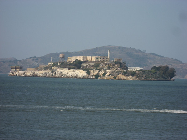 Alcatraz from the boat.