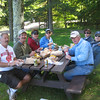 PICNIC LUNCH ON OUR 4-WHEELER RIDE