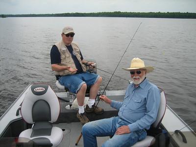 STAN,DEAN,DARREL, & CHUCK; FISHING TRIP TO CABIN 6/1 TO 6/3/07
