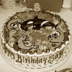 May 2007 - Sage's 8th Birthday