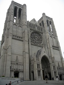 Grace Cathedral, the largest Gothic church in the West