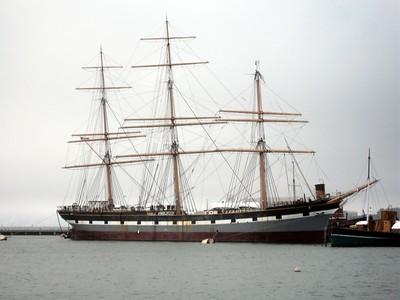 A ship in San Francisco Bay