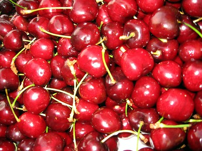 Cherries at Vlaho's Fruit Orchard on Pier 39
