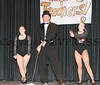 Carl Parent with Brittany Brooks and Daniella DeGeorge