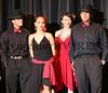 Miriam Arroyo with dancers