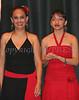 Miriam Arroyo with dancer