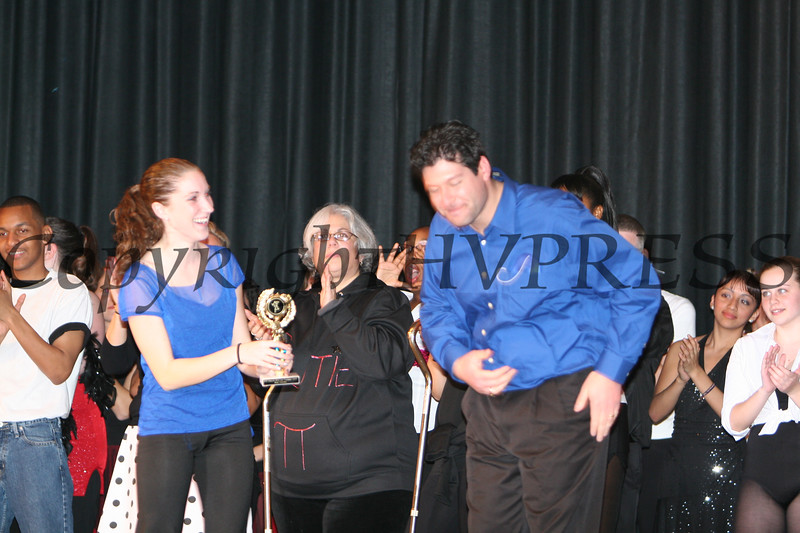Blue wins Most Original Award