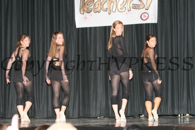 Gina Scaduto with dancers Annastasia Duffany, Chelsea Garzione and Amanda Peet