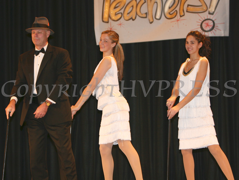 NFA Principal Peter Copeletti with Advanced Dance Company