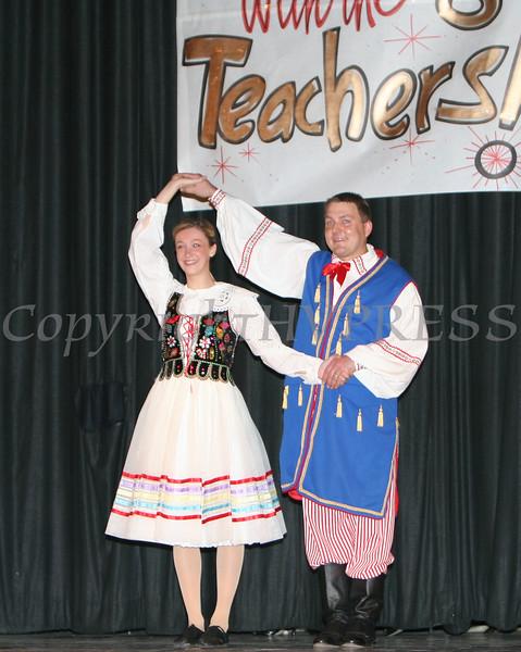 Ray Jashembowski and Amanda Peet