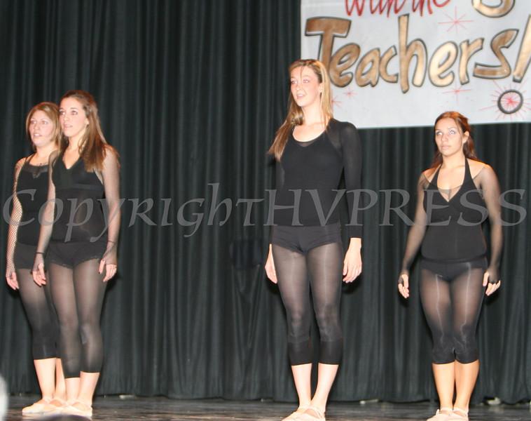 Gina Scaduto with dancers Annastasia Duffany Chelsea Garzione and Amanda Peet