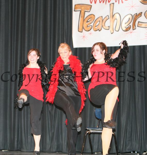 Arlene Winslow with Ashley Flannigan and Brittney Pierri